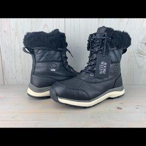 Ugg Adirondack 3 quilt black boot new